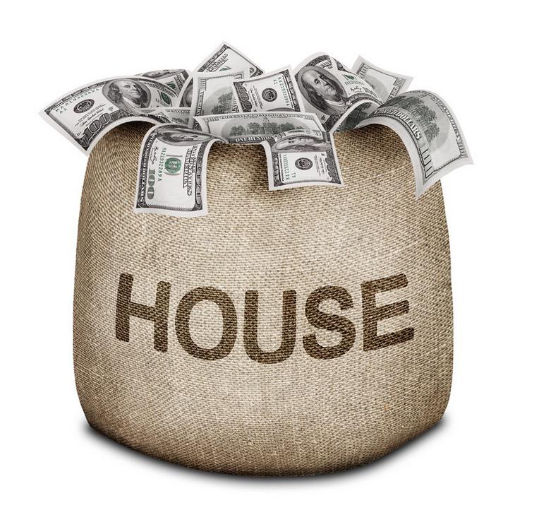 bag of money for housing loan