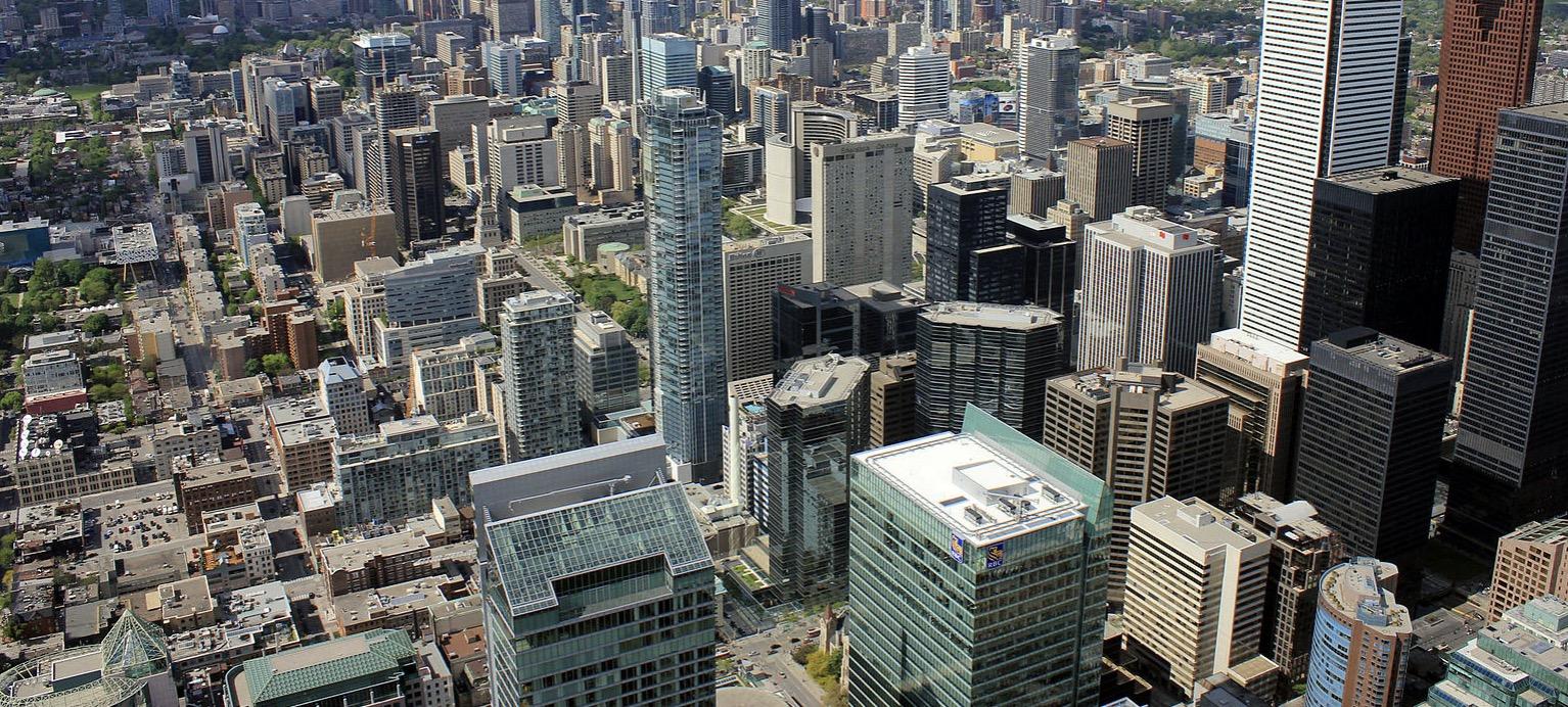 city skycraper buildings